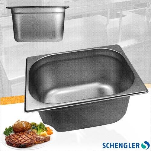 Schengler 1//2 GN-Beh/älter Deckel Edelstahl 150 mm tief